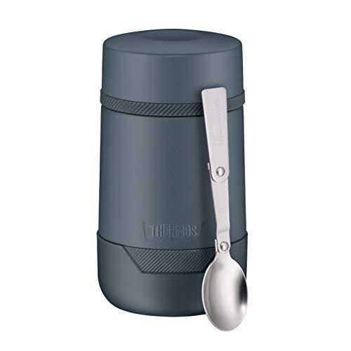 Thermos Guardian Line Speise-Gefäß 500 ml Lake Blue | Doppelwandiger Edelstahl, einfaches Handling, perfekte Größe | Absolut dicht und auslaufsicher [18/8 Edelstahl, Polypropylen, Silikon]