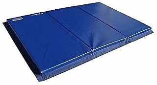 Z Athletic 4ft x 6ft x 2in Gymnastics Tumbling Cheerleading Martial Arts Tri-Fold Mat Multiple Colors