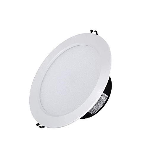 OUUED LED Plafondinbouwlampen voor plafond wit 18W Vervang 70W gloeilampen voor badkamer keuken woonkamer of slaapkamer (Color : Warm white (3000K))