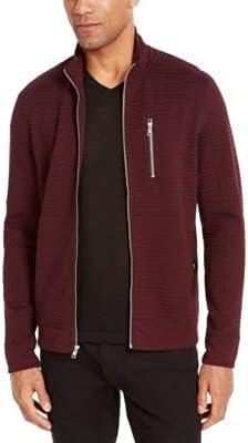 INC Mens Purple Zip Up Jacket XL