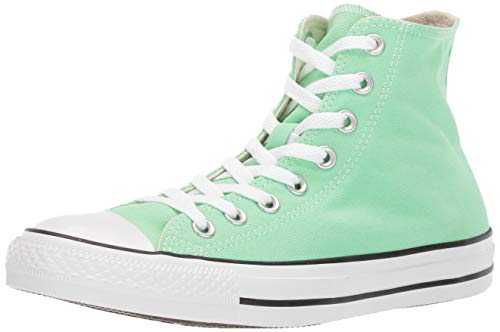 Converse Women's Unisex Chuck Taylor All Star Seasonal 2019 High Top Sneaker, Lt Aphid Green, 6