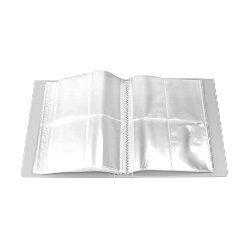 Syina 80/160 Grids transparente joyas pendientes libro de almacenamiento anti oxidación portátil viaje organizador bolsa organizador soporte expositor bolsa de almacenamiento