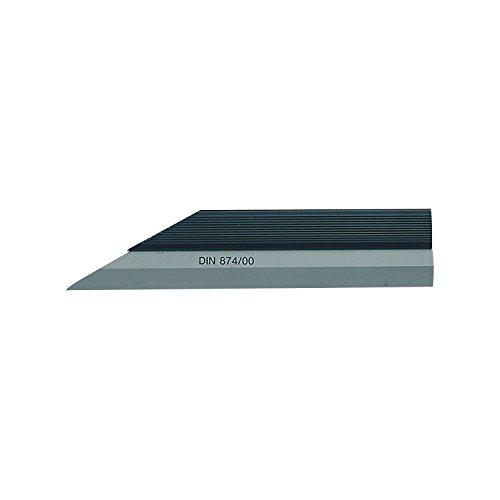 RBM Präzisions Haarlineal DIN874-00, länge 200 mm, Querschnitt 20 x 6, 1 Stück