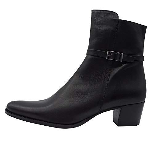 Pinto Di Blu 9851 Damen Stiefeletten Übergrößen schwarz, Größe:42 EU