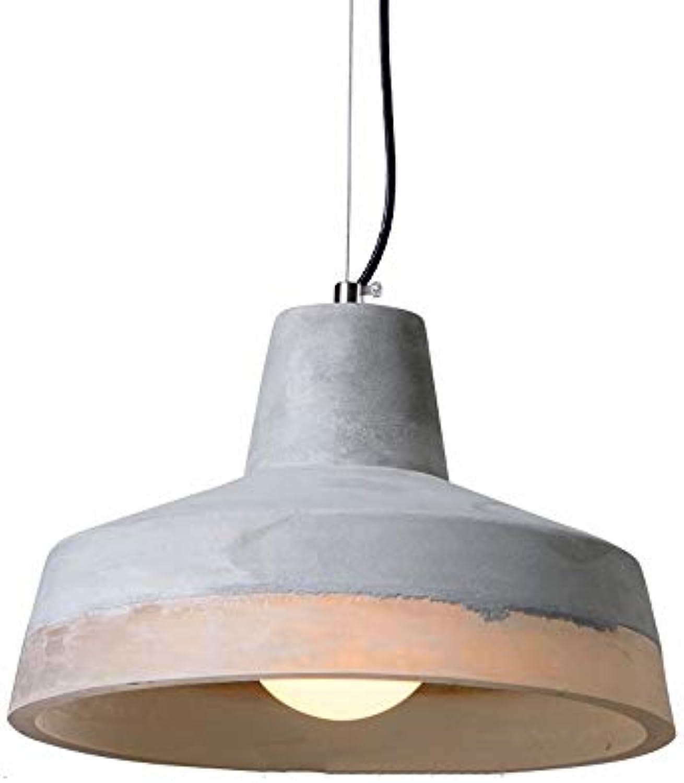 FTLY Loft Industrial Wind Hngelampe Retro Zement Pendelleuchte E27 Internet Cafe Bar Kreative Persnlichkeit Restaurant Dekorative Pendelleuchte