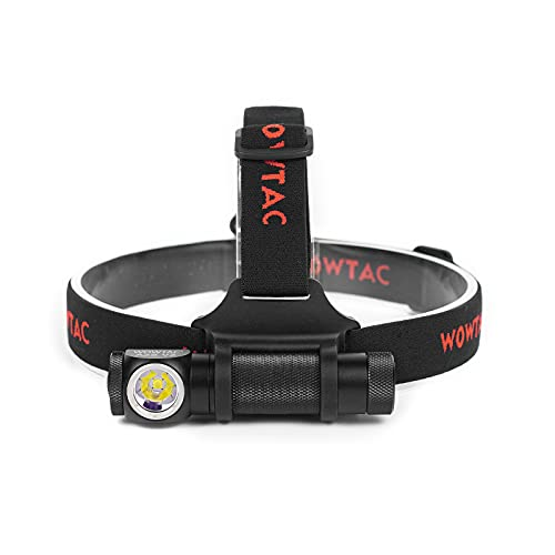 WOWTAC A2S V2 LED Headlamp LED Headlight 6 Modes Max 1050 Lumen Waterproof Headlamps, Super Bright Outdoor Sports Running Walking Camping Reading Hiking Riding Fishing, Cool White
