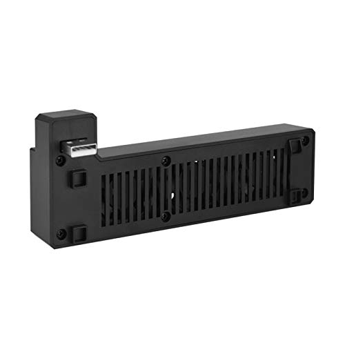 PUSOKEI Ventilador de refrigeración Externo USB para Consola de Juegos 3 Ventiladores de refrigeración con disipador de Calor Mini para Xbox One X - Plug and Play (Negro)