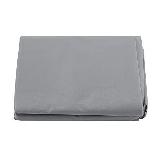 Rehomy Cubierta superior impermeable del asiento del oscilación al aire libre impermeable durable anti polvo protector gris