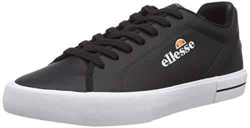 ellesse Taggia, Zapatillas Hombre, Multicolor (Black/Black/White Black/Black/Wht), 40.5 EU