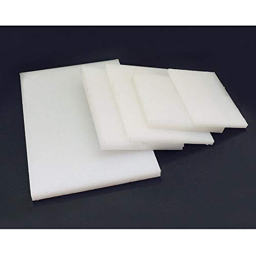 PVC White Cutting Board Rubber Mallet Mat Leather Craft Tools for Cutting Punching Stamp (Color : 200x150x8mm)