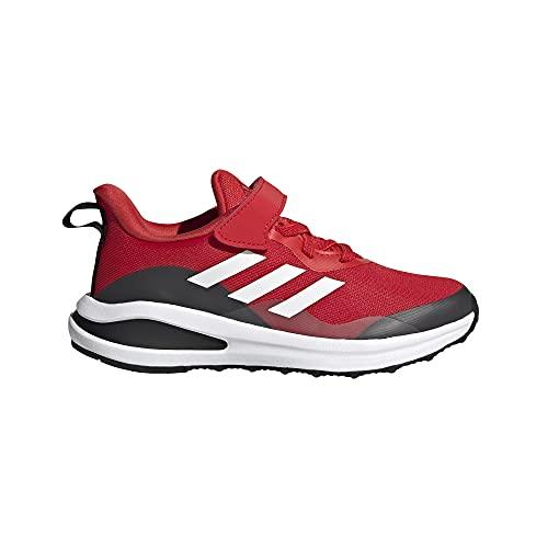 adidas Fortarun EL K, Zapatillas de Running, Rojint/FTWBLA/NEGBÁS, 33 EU