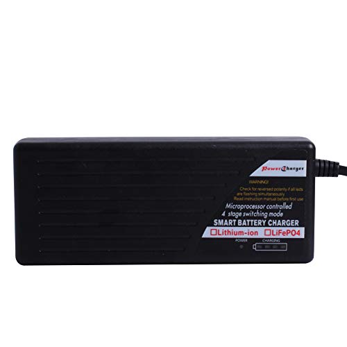 ULTRAPOWER 24V 42V Smart Automatic Li-ion Lipo Lithium Battery Charger for Scooter Ebike Electric with AC DC Connector