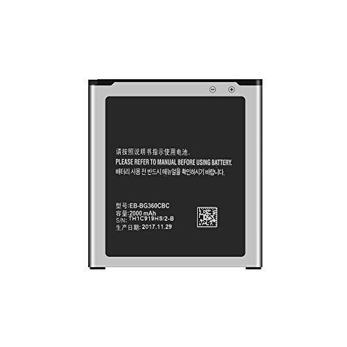 TY TOP EUROPE KIT - Samsung Galaxy J1 (J100) Batteria Interna Agli Ioni Di Litio Con 2000 mAh Carica Rapida 2.0 EB-BJ100BBE Compatibile con Samsung Galaxy J1 (J100) Con Adesivi e Strumenti
