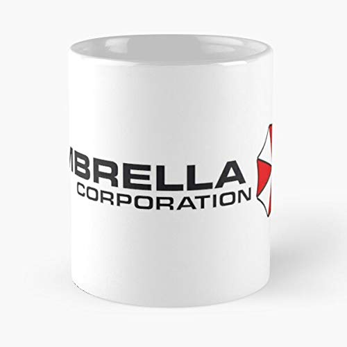 Candybrush Corporation Resident Umbrella Evil Game Best 11 oz Kaffeebecher - Nespresso Tassen Kaffee Motive !