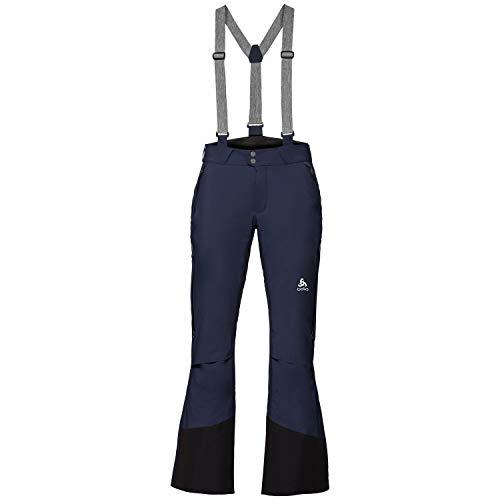 Odlo Sly Logic Pantalon Femme, Bleu Marine, XL