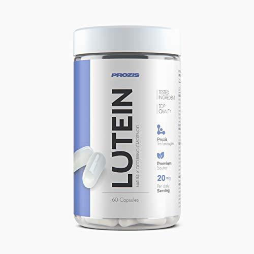 Prozis Lutein Suplemento vitamínico 40 mg, 60 cápsulas