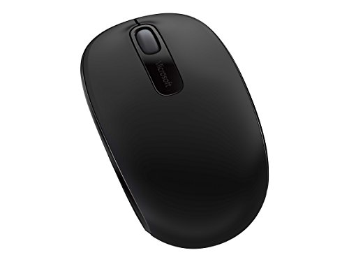 Microsoft Wireless Mobile Mouse 1850 for Business, Black (7MM-00001)