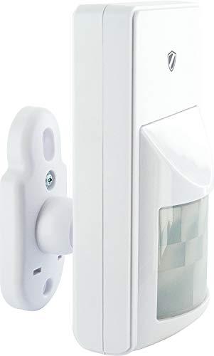 SCHWAIGER -5422- Bewegungsmelder innen | Bewegungssensor für den Innenbereich | Alarmanlage fürs Haus | Einbruchschutz | mehr Sicherheit
