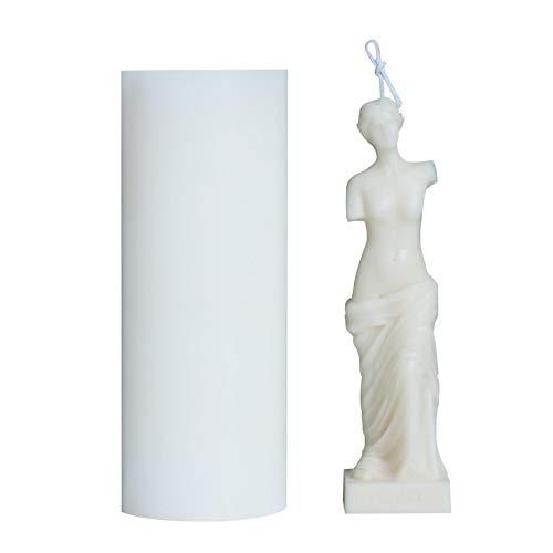 Candle Mold, Silicone Mold, 3D Venus De Milo Greek Roman Mythology Goddess Aphrodite Molds for Home Ornaments Wedding Receptions Birthdays Party Decoration