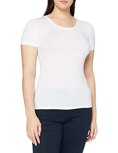 Playtex APP01BU, Camisa Deportiva para Mujer, Blanco (Blanco/Branco 000), Medium (Tamaño del fabricante:M)