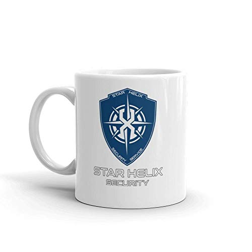 Star Helix Scurity Inspired By The Expanse Coffee Mug Gift For Science-Fiction Fan Lover Husband Wife Mother Father In Mother's Day Father's Day Birthday Christmas Thanksgiving Wedding