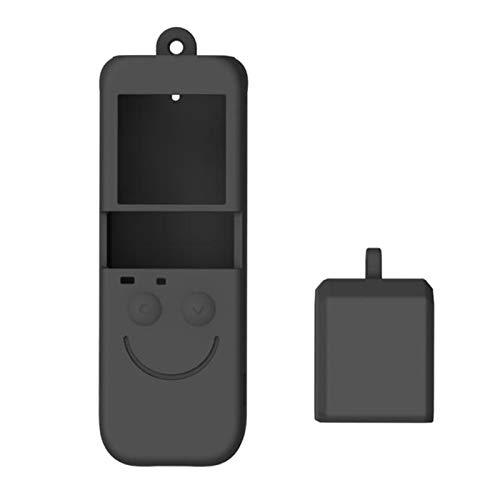 P Prettyia - Custodia protettiva in silicone per fotocamera DJI OSMO, 2 pezzi, accessorio per cellulare, antipolvere e anti-collisione