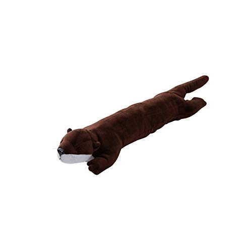 ELECOM Animal Wrist Rest for Keyboard Mouse Super Soft Ergonomic Design Reduce Fatigue, Otter (MOH-AN01OTT)