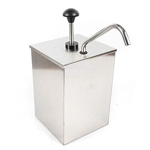 Dispensador de salsa de acero inoxidable 304 de 4 l