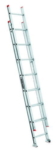 Louisville Ladder L-2321-16 Extension Ladder, 16-Foot