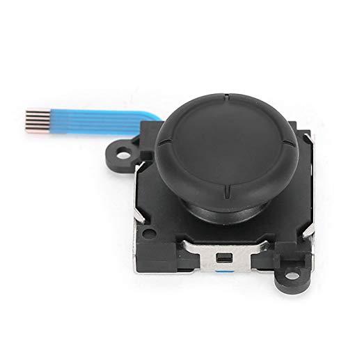 Botón de Joystick analógico 3D Izquierdo y Derecho Pieza de Repuesto Botón de Palanca de Mando con Destornillador para Gamepad