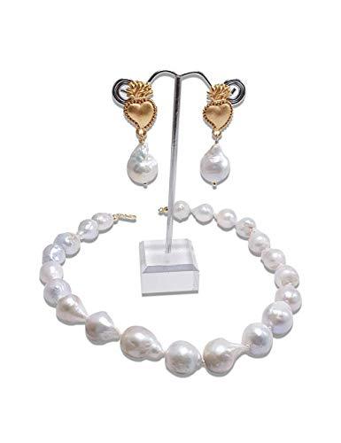Collana Perle Barocche