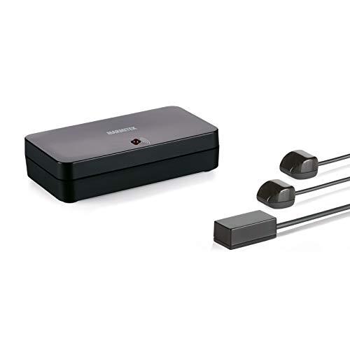 Ripetitore Infrarossi - Marmitek Invisible Control 6 XTRA - Funzionamento dei Dispositivi in un Armadio Chiuso - Compatibile Con Tutti i Decoder TV Europei - Ricevitore Extra Piccolo - LED Blaster
