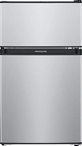 Frigidaire FFPS3133UM 19 Inch Freestanding Compact Refrigerator in Silver Mist
