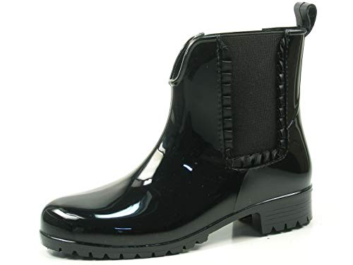 Tamaris Damen Gummi Stiefel 12598939 Schwarz 001 , Größe:39;Farbe:schwarz