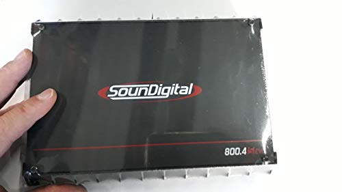 Best Price Soundigital 800.4S EVO 4 OHMS/EVO Series Class D 4-Channel 4-ohm Amplifier