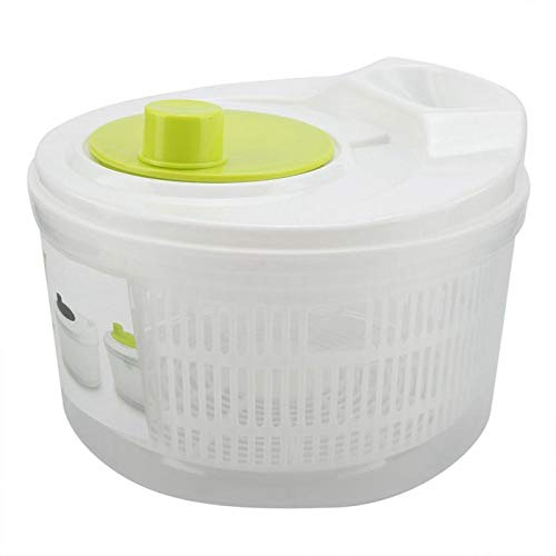 Great Deal! JOHNSTON Dryer Vegetable Fruit Drain Dehydrator Shake Water Multifunction Mix