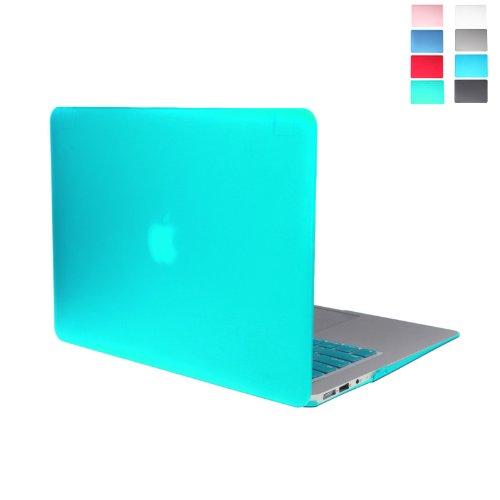 Andoer Matt Hartschalen-Case-Tastatur-Schutz-Abdeckung für MacBook Air 13 ' (dunkel blau)