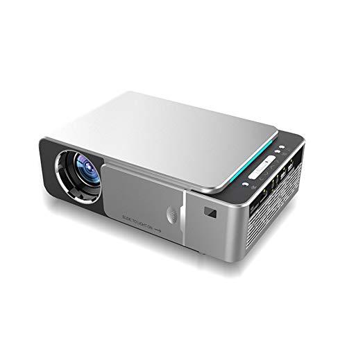 ZXGHS Mini Proiettore Portatile, Videoproiettore A LED HD 720P Portatile, Risoluzione 1280 * 720, Supporto USB/HDMI in Ingresso Interfaccia/VGA/AV/Cuffie