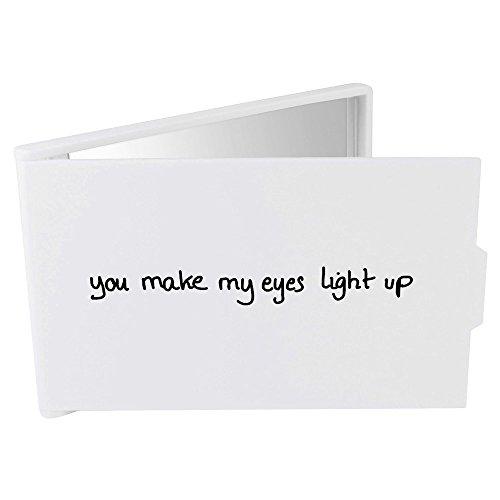 Azeeda 'Eyes Light Up' Miroir Compact / de Poche (CM00014031)