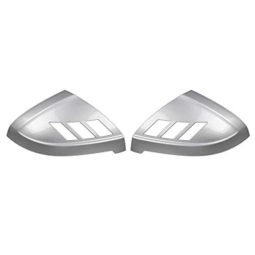 ZST-DM Tapa De Espejo Retrovisor, 2 Piezas De Cubierta De Puerta Lateral De Coche, Cubierta Lateral De Mrror para Audi A4 S4 Rs4 A5 S5 Rs5, Todos Los Modelos 2017-2020, Cromo Plateado