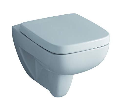 Keramag Tiefspül WC Renova Nr. 1 Plan wandhängend, KeraTect weiß(alpin), 202150600