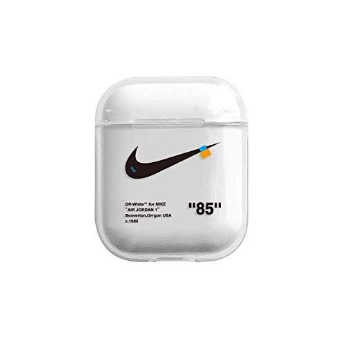 Sehr dicke Schutzhülle aus Silikon für Apple Airpods 1 und 2. Sport-Basketball-Logo