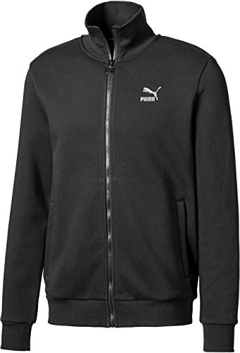 PUMA - - Strickjacke für schillernde Herren, XX-Large, Cotton Black/Iridescent