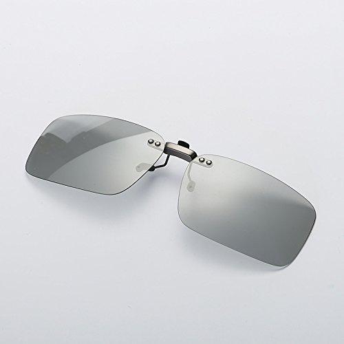 Weichunya HD Polarize Gafas de Sol Clip Ciclismo Riding Fishing Pilot Gafas...