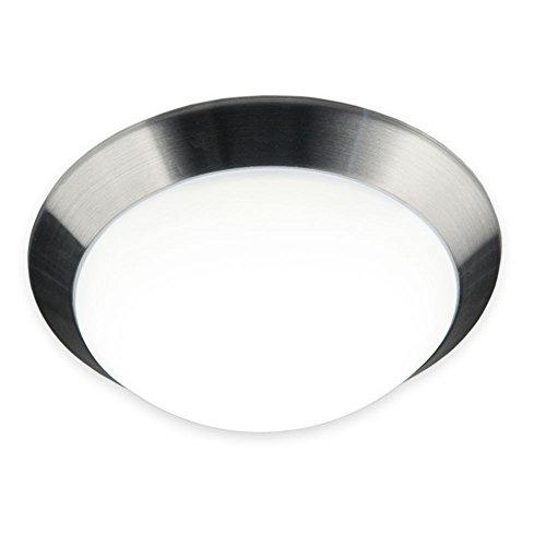 Preisvergleich Produktbild Licht-Trend Brose LED Deckenleuchte mit gewölbtem Kunststoffschirm Deckenlampe