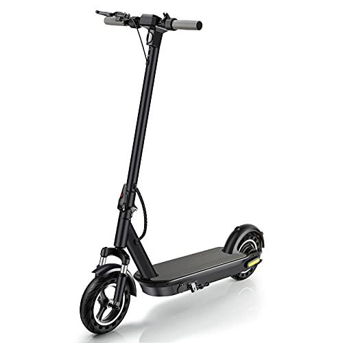 HOMERIC Scooter eléctrico plegable para adultos con motor de 500 W 3 modos de velocidad velocidad máxima 35 km/h, 15ah e-scooter
