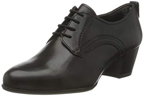 Tamaris Damen 1-1-23305-25 Oxford-Schuh, schwarz, 39 EU