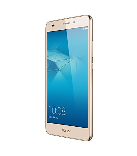 Honor 5C Smartphone (13,2 cm (5,2 Zoll) Touch-Display, 1920 x 1080 pixels, 13 Megapixel, 16 GB interner Speicher, Android M EMUI 4.1) gold