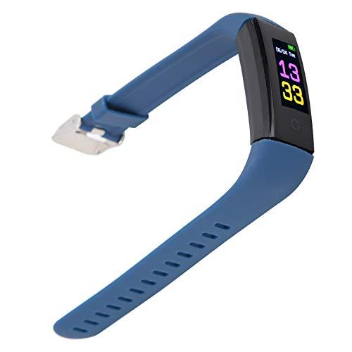 01 Smartband, Pulsera Deportiva Duradera con análisis de Datos para un Estilo de Vida Saludable para la regulación de la presión Vital(Blue, Pisa Leaning Tower Type)