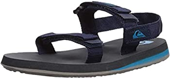 Quiksilver Baby-Boy s Monkey Caged Sandal Blue/Grey/Blue 4 20  M US Toddler